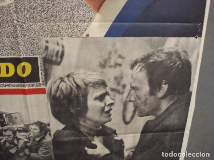 Cine: CDO 6036 EL ATENTADO JEAN-LOUIS TRINTIGNANT POSTER ORIGINAL 70X100 ESTRENO - Foto 8 - 220967936