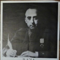 Cine: RAZA EL ESPIRITU DE FRANCO - POSTER CARTEL ORIGINAL - ALFREDO MAYO GONZALO HERRALDE. Lote 220987273