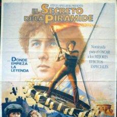 Cine: EL SECRETO DE LA PIRÁMIDE. POSTER ORIGINAL. Lote 221127257