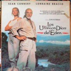 Cine: LOS ULTIMOS DÍAS DEL EDEN. POSTER ORIGINAL (JOHN MC TIERNAN 1992). Lote 221134186