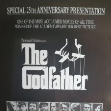 Cine: EL PADRINO- THE GODFATHER - POSTER, US 1SHEET - CARTER CINECLUB ORIGINAL 15 ANIVERSARIO. RARO. Lote 221161230