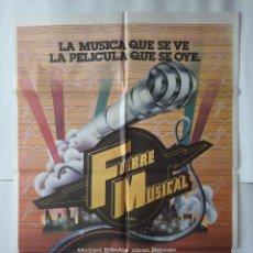 Cine: CARTEL CINE FIEBRE MUSICAL C731. Lote 221262541