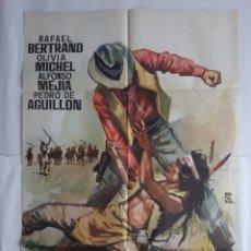 Cine: CARTEL CINE PUÑOS DE ROCA 1964 MONTALBAN C742. Lote 221277923