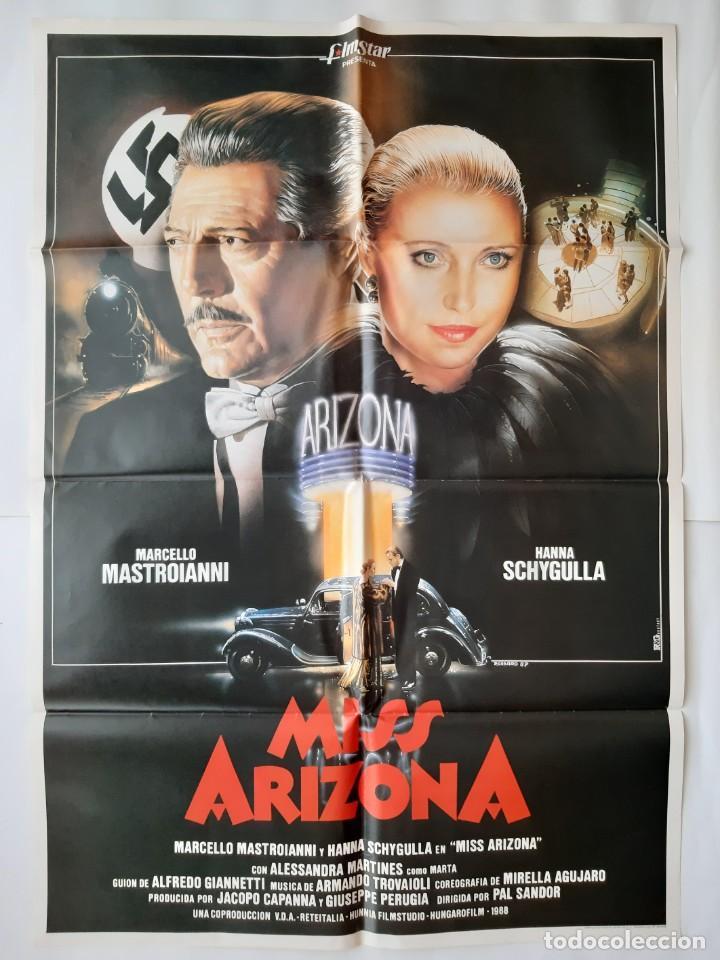 CARTEL CINE MISS ARIZONA 1988 C748 (Cine - Posters y Carteles - Acción)
