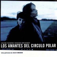 Cine: LOS AMANTES DEL CÍRCULO POLAR (POSTER). Lote 221555290
