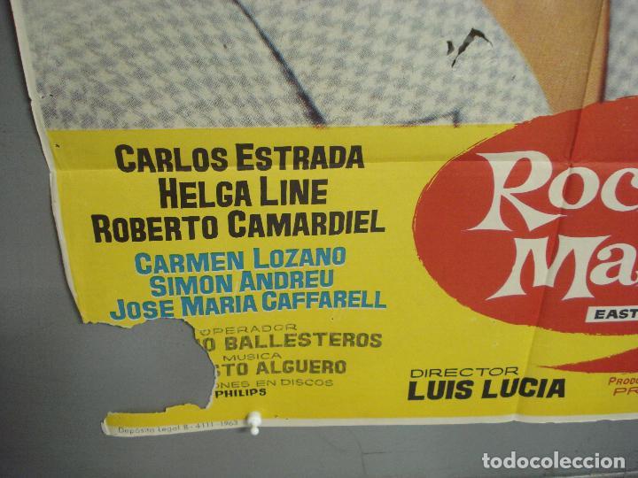 Cine: CDO 6140 ROCIO DE LA MANCHA ROCIO DURCAL LUIS LUCIA POSTER ORIGINAL 70X100 ESTRENO - Foto 5 - 221563840