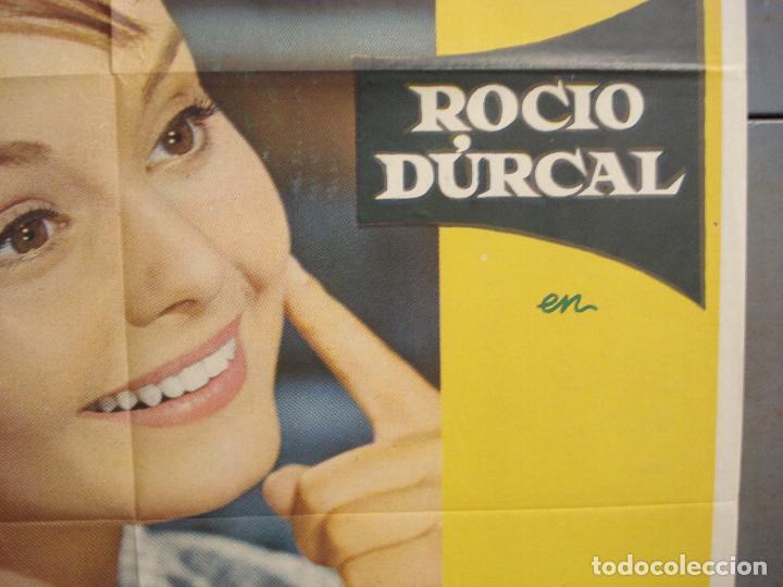 Cine: CDO 6140 ROCIO DE LA MANCHA ROCIO DURCAL LUIS LUCIA POSTER ORIGINAL 70X100 ESTRENO - Foto 7 - 221563840