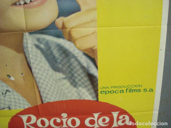 Cine: CDO 6140 ROCIO DE LA MANCHA ROCIO DURCAL LUIS LUCIA POSTER ORIGINAL 70X100 ESTRENO - Foto 8 - 221563840