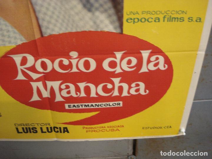 Cine: CDO 6140 ROCIO DE LA MANCHA ROCIO DURCAL LUIS LUCIA POSTER ORIGINAL 70X100 ESTRENO - Foto 9 - 221563840