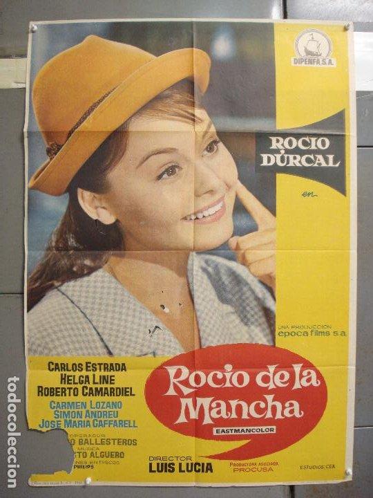 CDO 6140 ROCIO DE LA MANCHA ROCIO DURCAL LUIS LUCIA POSTER ORIGINAL 70X100 ESTRENO (Cine - Posters y Carteles - Clasico Español)