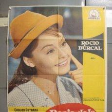 Cine: CDO 6140 ROCIO DE LA MANCHA ROCIO DURCAL LUIS LUCIA POSTER ORIGINAL 70X100 ESTRENO. Lote 221563840