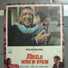 Cine: CDO 6161 ABUELO MADE IN SPAIN PACO MARTINEZ SORIA POSTER ORIGINAL 70X100 ESTRENO. Lote 221568045