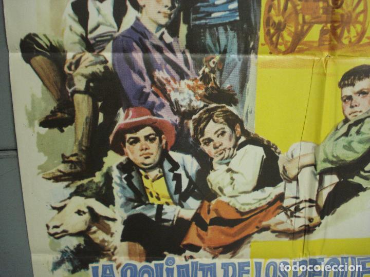Cine: CDO 6168 LA COLINA DE LOS PEQUEÑOS DIABLOS LEON KLIMOVSKY POSTER ORIGINAL 70X100 ESTRENO - Foto 4 - 221570946