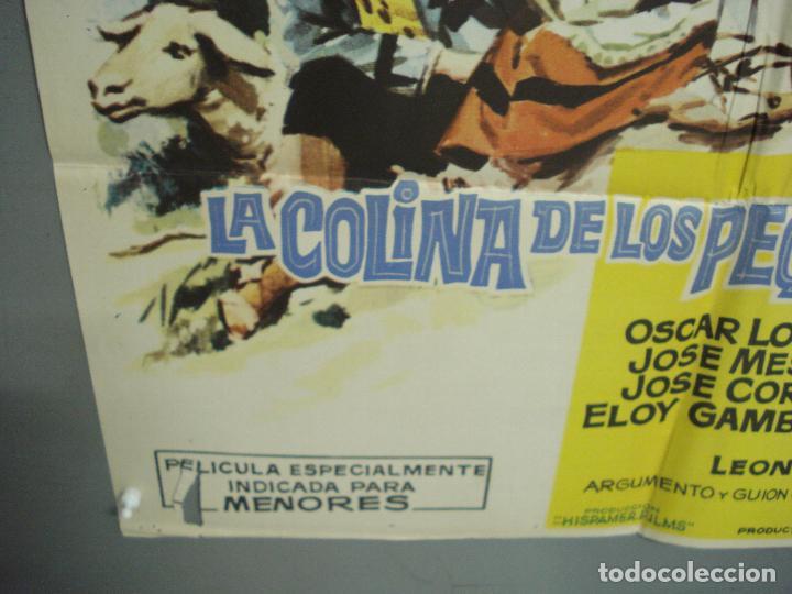 Cine: CDO 6168 LA COLINA DE LOS PEQUEÑOS DIABLOS LEON KLIMOVSKY POSTER ORIGINAL 70X100 ESTRENO - Foto 5 - 221570946