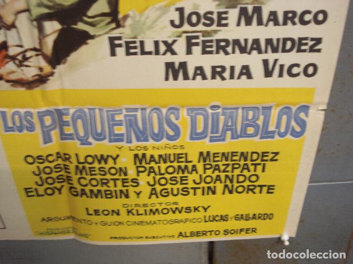 Cine: CDO 6168 LA COLINA DE LOS PEQUEÑOS DIABLOS LEON KLIMOVSKY POSTER ORIGINAL 70X100 ESTRENO - Foto 9 - 221570946