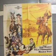 Cine: CDO 6168 LA COLINA DE LOS PEQUEÑOS DIABLOS LEON KLIMOVSKY POSTER ORIGINAL 70X100 ESTRENO. Lote 221570946