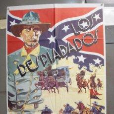 Cine: CDO 6206 LOS DESPIADADOS JULIAN MATEOS JOSEPH COTTEN SPAGHETTI POSTER ORIGINAL 70X100 ESPAÑOL. Lote 221599460