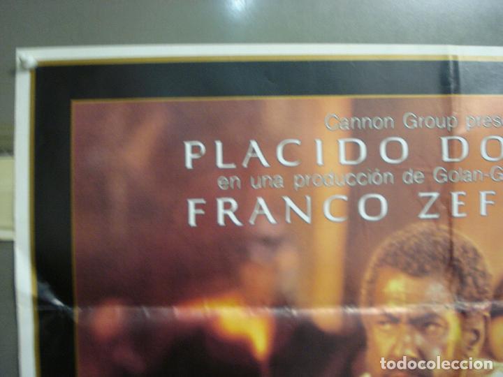 Cine: CDO 6208 OTELO PLACIDO DOMINGO OPERA POSTER ORIGINAL 70X100 ESTRENO - Foto 2 - 221600390