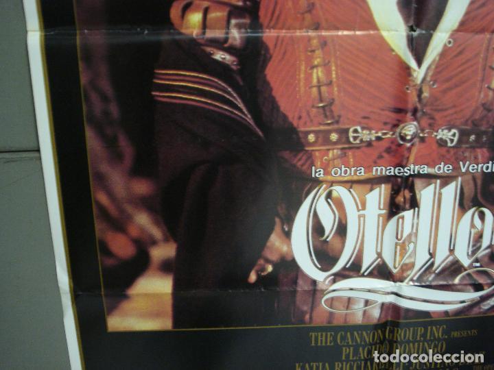 Cine: CDO 6208 OTELO PLACIDO DOMINGO OPERA POSTER ORIGINAL 70X100 ESTRENO - Foto 4 - 221600390
