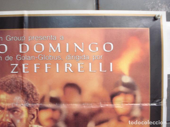 Cine: CDO 6208 OTELO PLACIDO DOMINGO OPERA POSTER ORIGINAL 70X100 ESTRENO - Foto 6 - 221600390