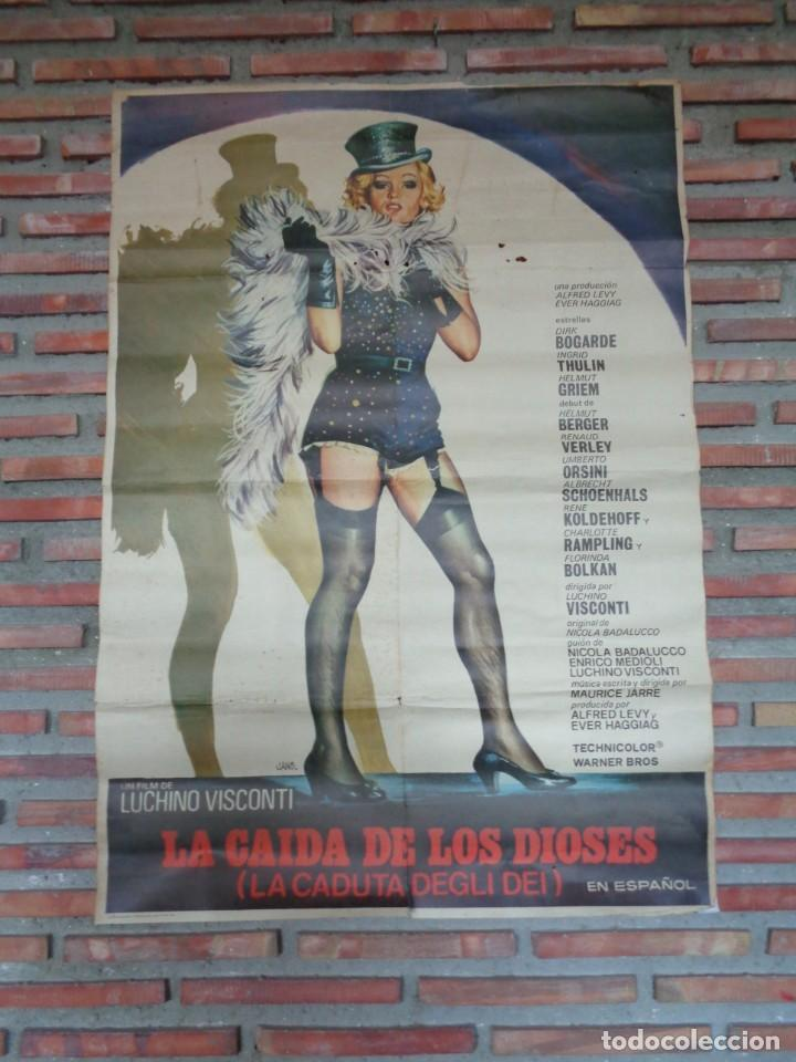 LA CAIDADE LOS DIOSES.F-110 (Cine - Posters y Carteles - Acción)
