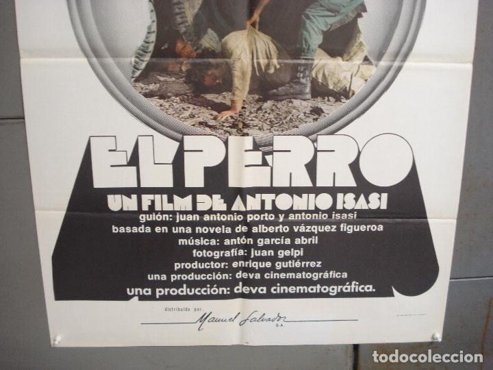 Cine: CDO 6245 EL PERRO ANTONIO ISASI JASON MILLER POSTER ORIGINAL 70X100 ESTRENO - Foto 3 - 221667330
