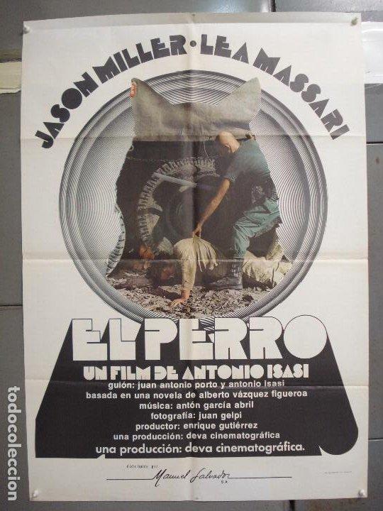 CDO 6245 EL PERRO ANTONIO ISASI JASON MILLER POSTER ORIGINAL 70X100 ESTRENO (Cine - Posters y Carteles - Clasico Español)