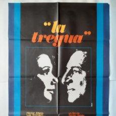 Cine: ANTIGUO CARTEL CINE LA TREGUA 1974 R1. Lote 221667707