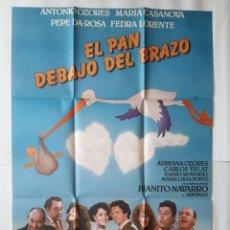 Cine: ANTIGUO CARTEL CINE EL PAN DEBAJO DEL BRAZO 1984 R4. Lote 221668297