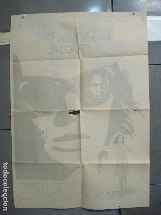 Cine: CDO 6249 UN RETAZO DE AZUL ELIZABETH HARTMAN SIDNEY POITIER POSTER ORIGINAL 70X100 ESTRENO - Foto 11 - 221668928