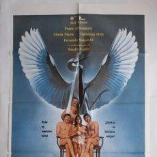 Cine: ANTIGUO CARTEL CINE EL VUELO DE LA CIGÜEÑA 1980 R11. Lote 221669652