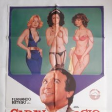 Cine: ANTIGUO CARTEL CINE CARAY CON EL DIVORCIO 1982 JANO R12. Lote 221669825