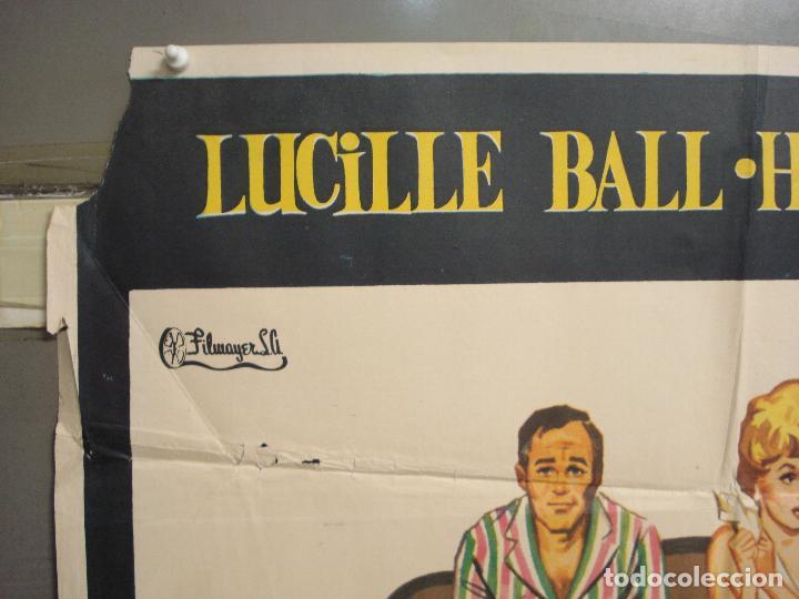 Cine: CDO 6256 TUYOS MIOS NUESTROS LUCILLE BALL HENRY FONDA POSTER ORIGINAL 70X100 ESTRENO - Foto 2 - 221672312