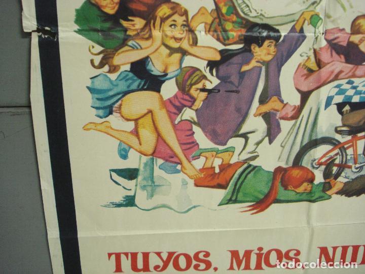 Cine: CDO 6256 TUYOS MIOS NUESTROS LUCILLE BALL HENRY FONDA POSTER ORIGINAL 70X100 ESTRENO - Foto 4 - 221672312