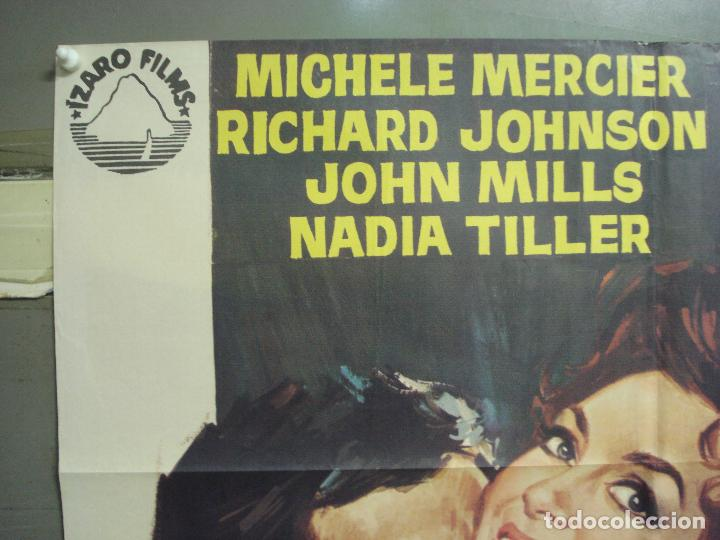 Cine: CDO 6258 LOS AMORES DE LADY HAMILTON MICHELE MERCIER RICHARD JOHNSON POSTER ORIGINAL 70X100 ESTRENO - Foto 2 - 221672670