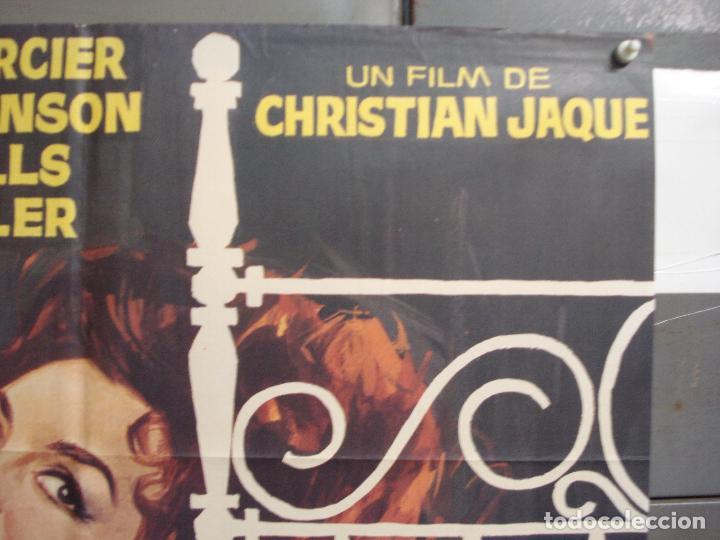 Cine: CDO 6258 LOS AMORES DE LADY HAMILTON MICHELE MERCIER RICHARD JOHNSON POSTER ORIGINAL 70X100 ESTRENO - Foto 6 - 221672670