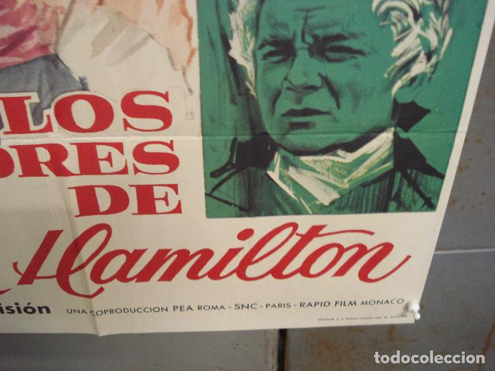 Cine: CDO 6258 LOS AMORES DE LADY HAMILTON MICHELE MERCIER RICHARD JOHNSON POSTER ORIGINAL 70X100 ESTRENO - Foto 9 - 221672670