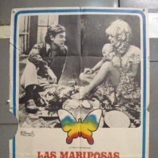 Cine: CDO 6261 LAS MARIPOSAS SON LIBRES GOLDIE HAWN POSTER ORIGINAL 70X100 ESTRENO. Lote 221673391