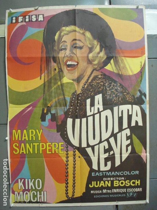 CDO 6265 LA VIUDITA YE-YE MARY SANTPERE KIKO MOCHI ALADY JUAN BOSCH MARTI RIPOLL POSTER 70X100 (Cine - Posters y Carteles - Clasico Español)