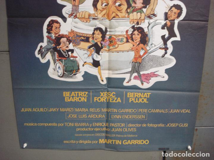 Cine: CDO 6268 QUE PUÑETERA FAMILIA BEATRIZ BARON XESC FORTEZA POSTER ORIGINAL 70X100 ESTRENO - Foto 3 - 221678120