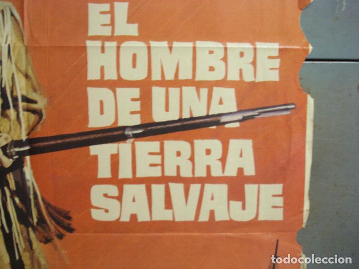 Cine: CDO 6286 EL HOMBRE DE UNA TIERRA SALVAJE RICHARD HARRIS MCP POSTER ORIGINAL 70X100 ESTRENO - Foto 7 - 221685036
