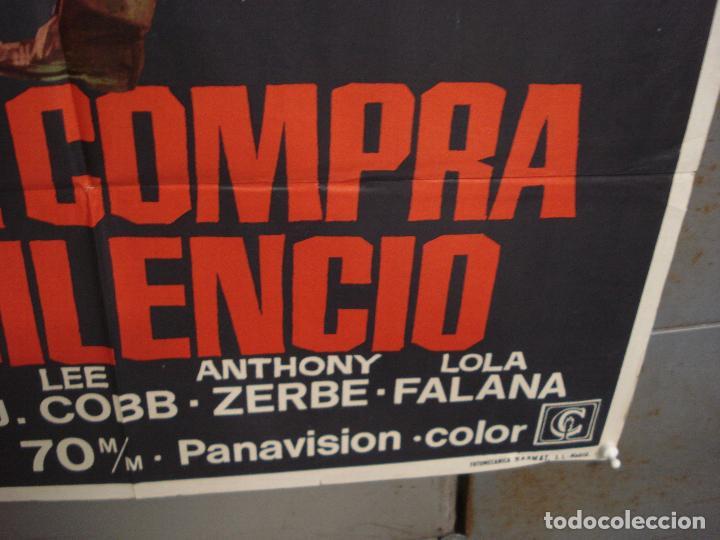 Cine: CDO 6287 NO SE COMPRA EL SILENCIO LOLA FALANA WILLIAM WYLER JANO POSTER ORIGINAL 70X100 ESTRENO - Foto 9 - 221685505