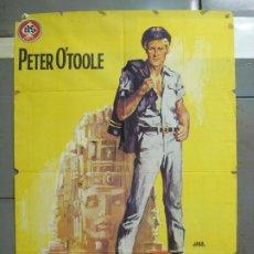 Cine: CDO 6289 LORD JIM PETER O'TOOLE POSTER ORIGINAL 70X100 ESTRENO. Lote 221686322