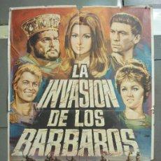 Cine: CDO 6290 LA INVASION DE LOS BARBAROS ORSON WELLES LAURENCE HARVEY KOSCINA POSTER ORIG 70X100 ESTRENO. Lote 221686588