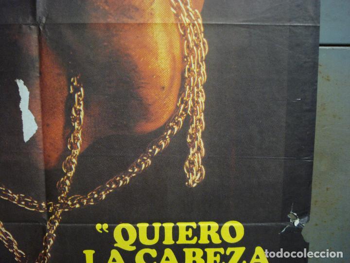 Cine: CDO 6293 QUIERO LA CABEZA DE ALFREDO GARCIA SAM PECKINPAH POSTER ORIGINAL 70X100 ESTRENO - Foto 7 - 221687665