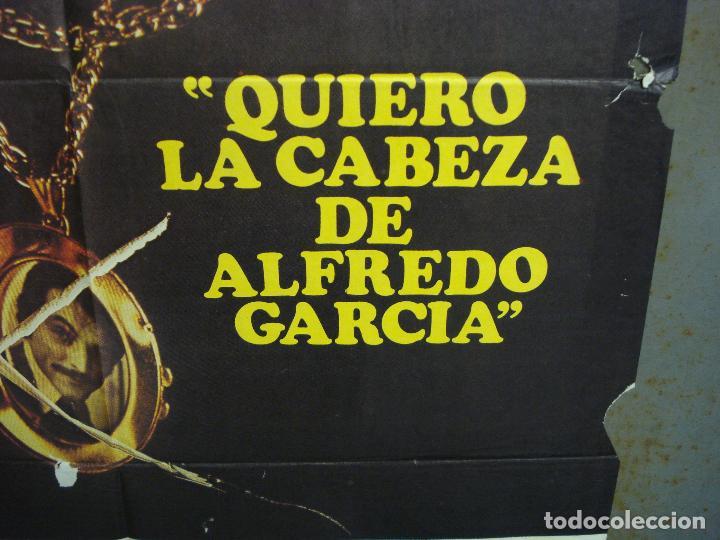 Cine: CDO 6293 QUIERO LA CABEZA DE ALFREDO GARCIA SAM PECKINPAH POSTER ORIGINAL 70X100 ESTRENO - Foto 8 - 221687665