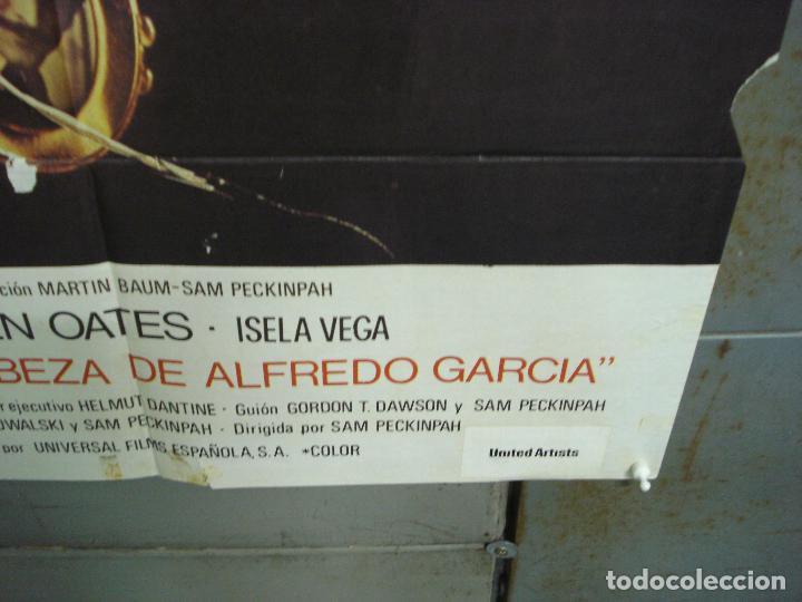 Cine: CDO 6293 QUIERO LA CABEZA DE ALFREDO GARCIA SAM PECKINPAH POSTER ORIGINAL 70X100 ESTRENO - Foto 9 - 221687665