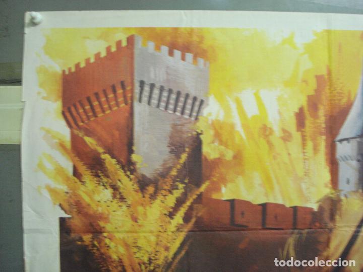 Cine: CDO 6299 LA FORTALEZA BURT LANCASTER PETER FALK POSTER ORIGINAL 70X100 ESTRENO - Foto 2 - 221690042