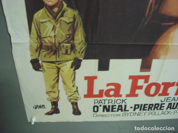 Cine: CDO 6299 LA FORTALEZA BURT LANCASTER PETER FALK POSTER ORIGINAL 70X100 ESTRENO - Foto 5 - 221690042