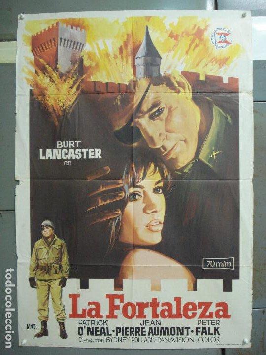 CDO 6299 LA FORTALEZA BURT LANCASTER PETER FALK POSTER ORIGINAL 70X100 ESTRENO (Cine - Posters y Carteles - Bélicas)